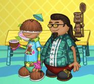 Kahuna and LePete