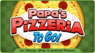 Small Pizzeria To Go! Promotion Icon