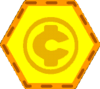 Coins-badge