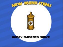 Unlocking honey mustard sauce