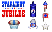 Cupcakeria HD - Starlight Jubilee Toppings