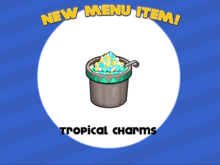 Papa's Freezeria - Tropical Charms