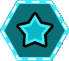 Point Stars-badge