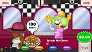 Perfect 85 Sprinks the Clown Pastaria To Go!