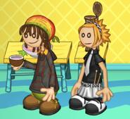 Clover and Hacky Zak