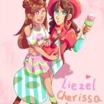 Liezel and Cherissa by Momoko Sara Hoshino