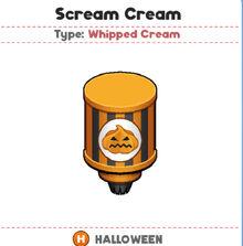 Scream Cream (PTG)