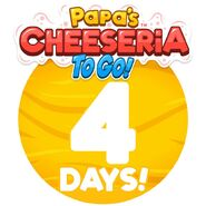 Cheeseria To Go - 4 Days Left
