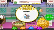 Papa's Hot Doggeria To Go! Veggie Garden Prize