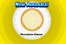 Provolone Cheese Pizzeria HD
