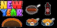 New Year Ingredients - Taco Mia HD