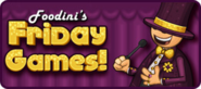 Foodini's Friday Games Icon