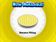 Unlocking banana filling