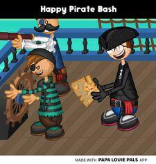 Pirate Bash Scene