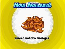 Unlocking sweet potato wedges
