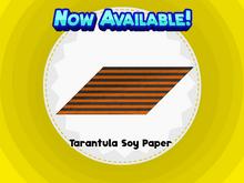Tarantula Soy Paper