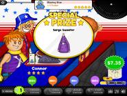 Blazing blue prize
