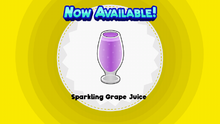 Sparkling Grape Juice PHD