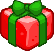 Frosted Gift