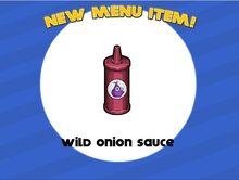 Unlocking wild onion sauce