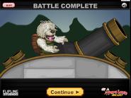 Battle complete