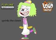 Flipline studios sprinks the clown the loud house