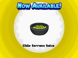Chile Serrano Salsa