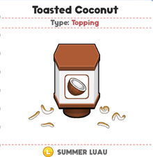 Toasted Coconut (PTG)