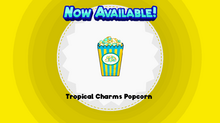 Tropical Charms Popcorn (HHD)