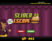Mini Game - Silder Escape