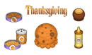 PapasScooperia - Thanksgiving Ingredients