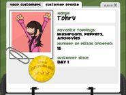Tohru w