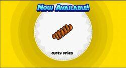 Unlocking curly fries