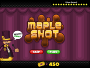 Mini Game - Maple Shot