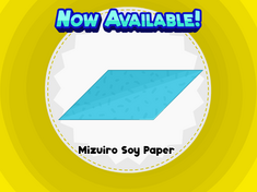 Mizuiro Soy Paper
