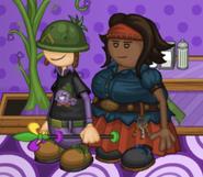 Sarge Fan and Rhonda