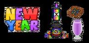 Papa's Pancakeria HD - Ingredients - New Year