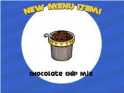 Unlock chocolate chip mix