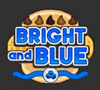 Bright and Blue Logo