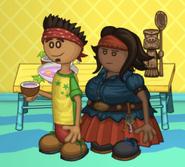 Alberto and Rhonda