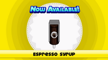 Espresso Syrupp