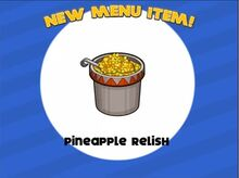 Unlocking pineapple relish