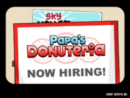 Papa's Donuteria Intro - Now Hiring!
