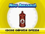 Cocoa Chipotle Drizzle