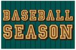 Baseball Season Poster