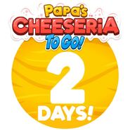 Cheeseria To Go - 2 Days Left