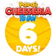 Cheeseria To Go - 6 Days Left