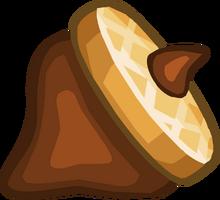 Papa's Cupcakeria - Chocolate Acorn
