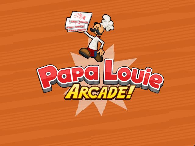 File:Papa Louie Arcade Logo.png