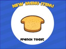 Unlocking french toast
